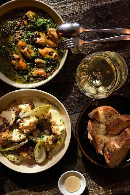 A hearty Italian meal