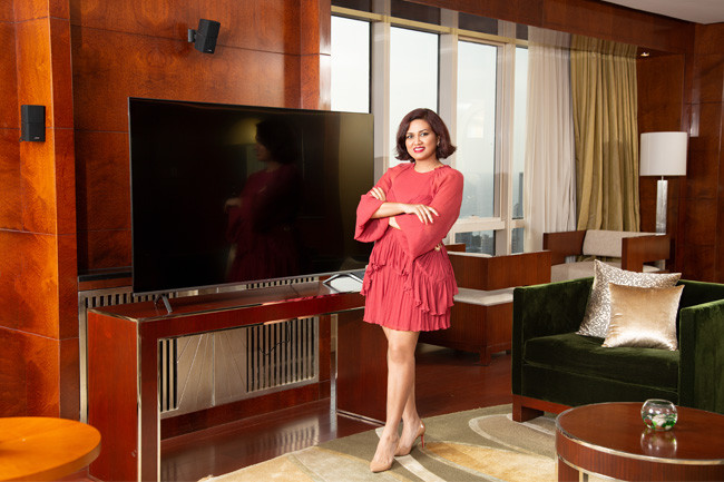Devita Saraf Becoming The Face Of VU TV