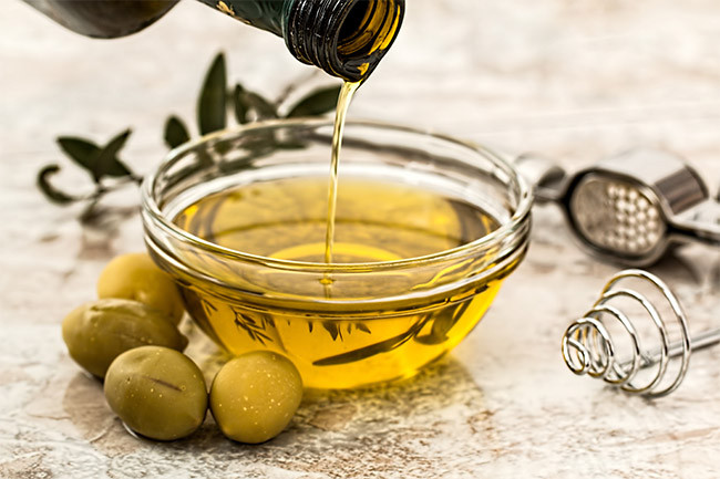Olive oil haircare