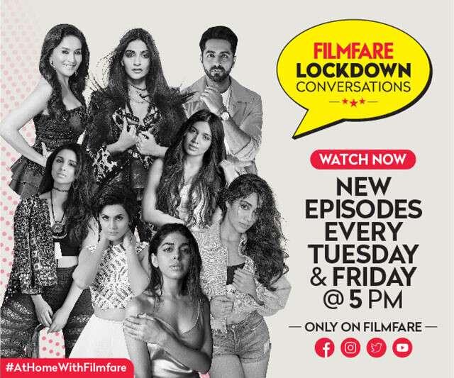 Filmfare Lockdown Conversation
