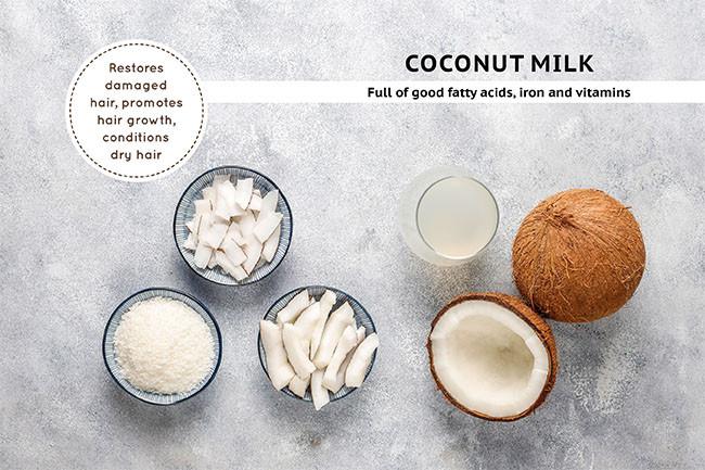 Coconut Milk For Hair Fall Treatments