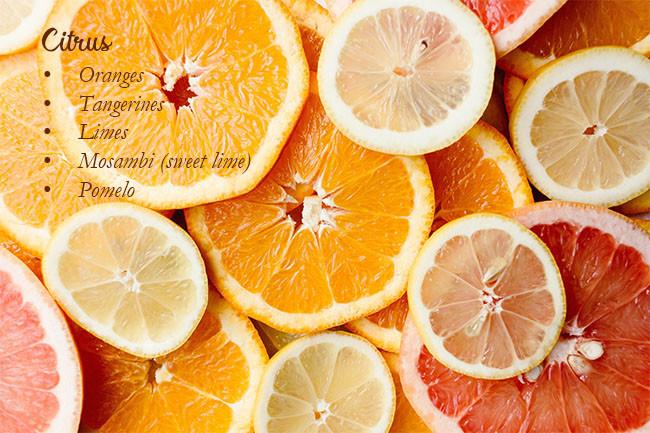 Foods To Increase Immunity Citrus Fruits