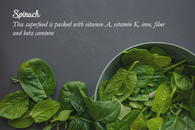 Foods To Increase Immunity Spinach