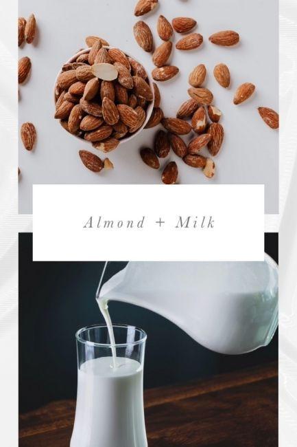 Homemade Face Scrubs Almond And Milk Scrub