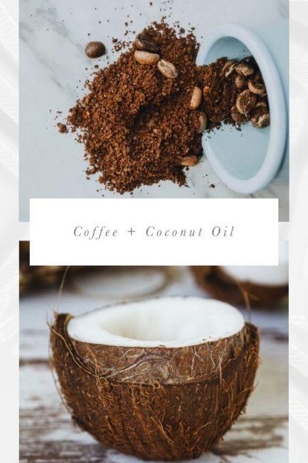 Homemade Face Scrubs Coffee And Coconut Oil Scrub