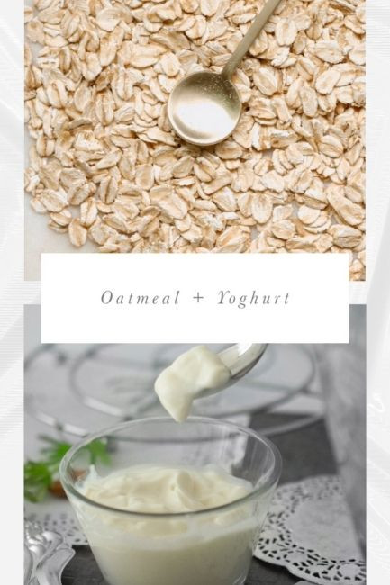 Homemade Face Scrubs Oatmeal And Yoghurt Scrub