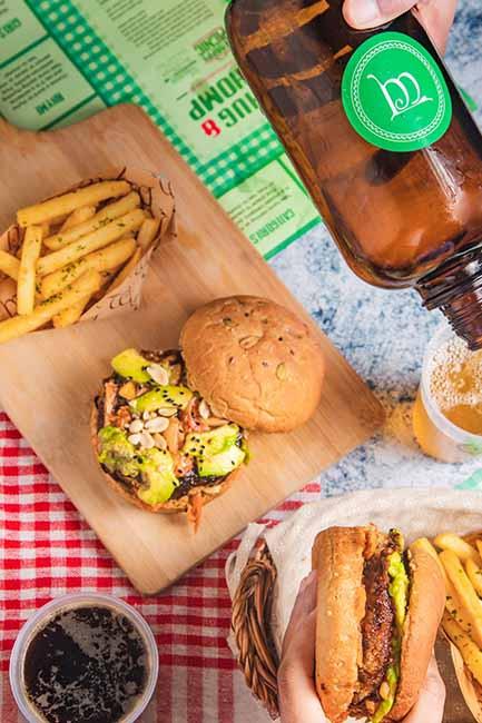 food gourmet burgers