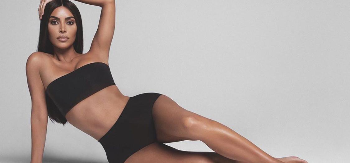 Body make-up Kim Kardashian