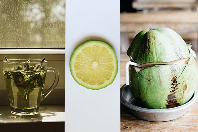 Detox Drink Coconut Lime Iced Tea