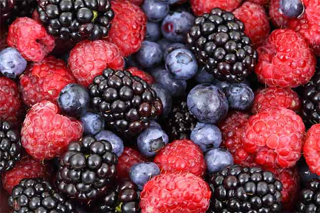Food For Hair Growth Berries