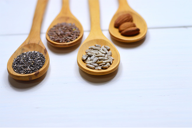 Food For Hair Growth Seeds