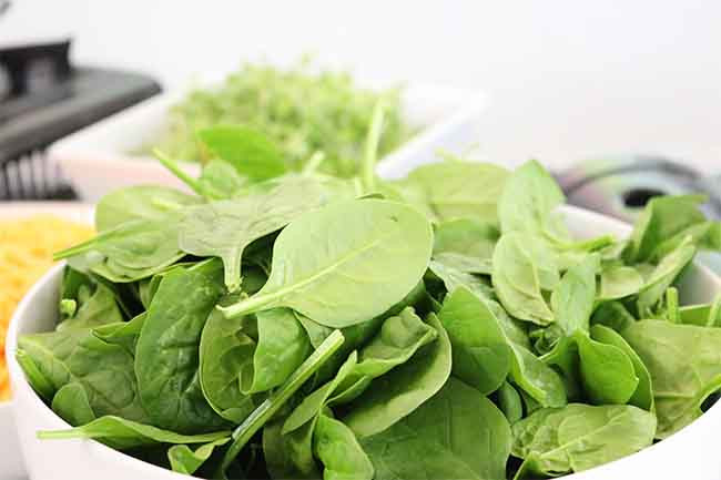 Food For Hair Growth Spinach
