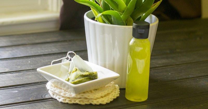 Blackhead Removal Mask Green Tea And Aloe Vera