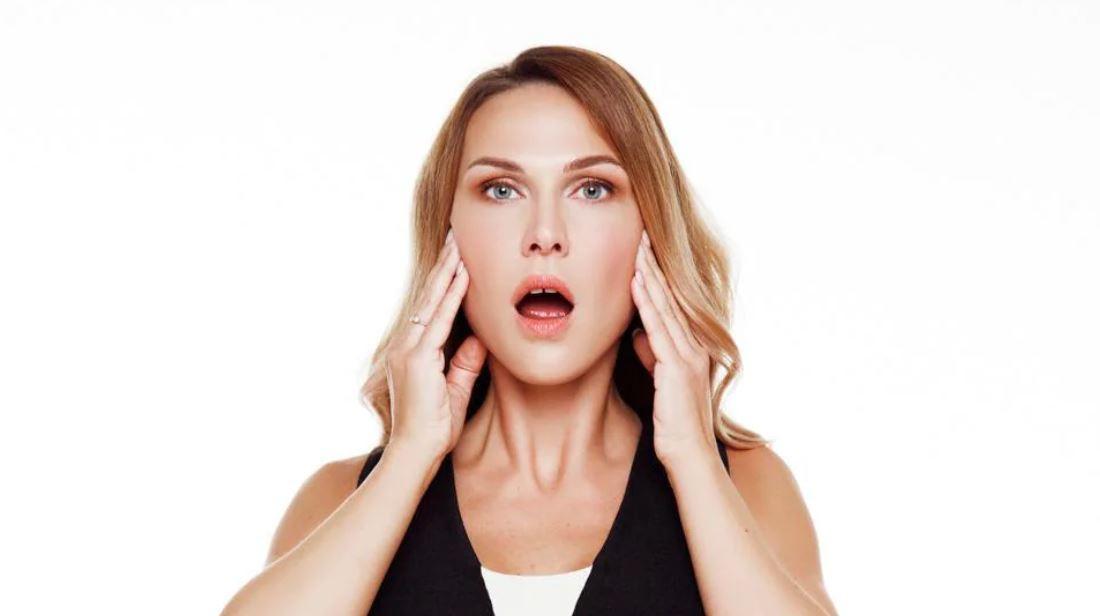 Double Chin Exercises Jaw Flex