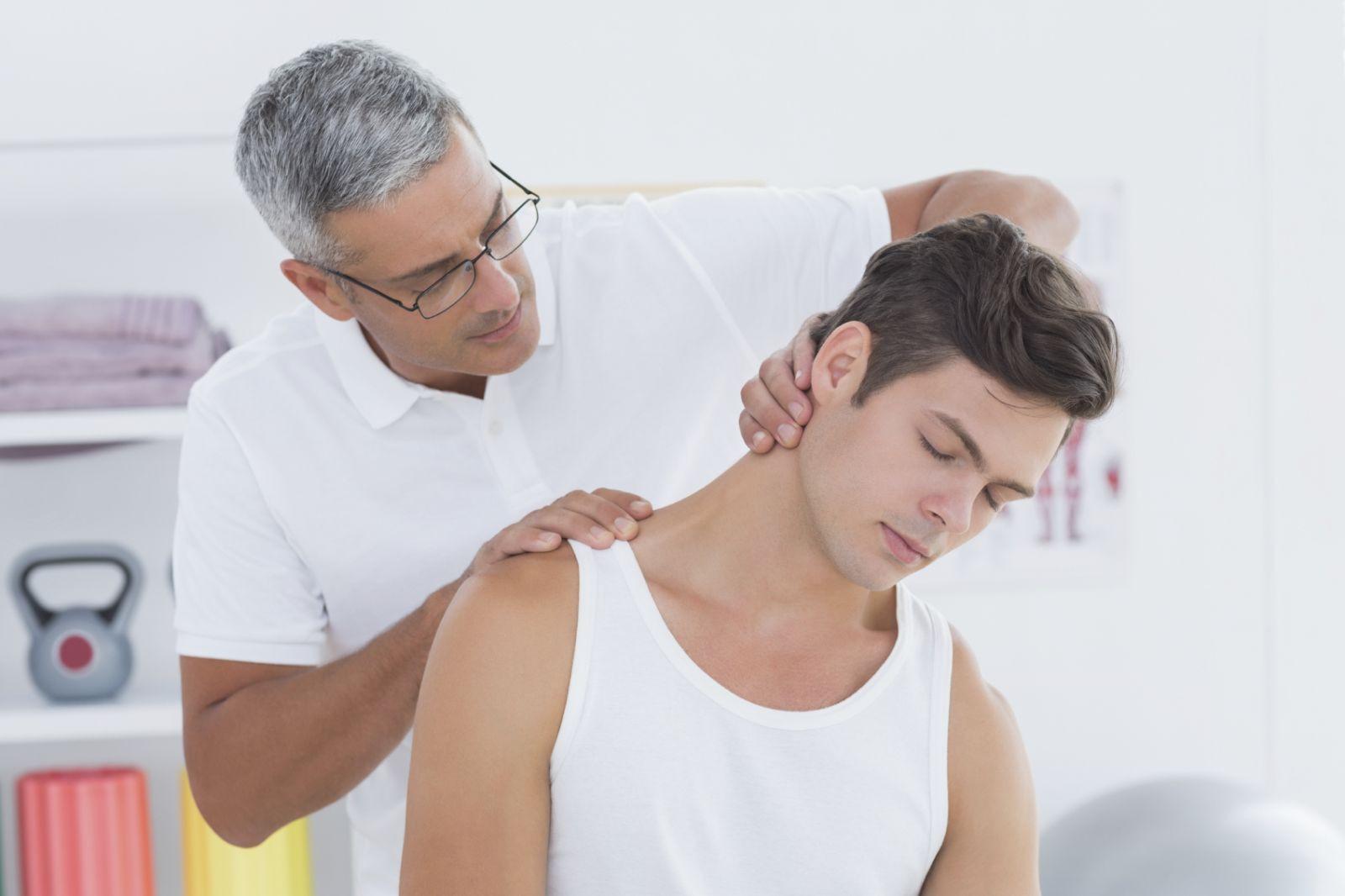 text neck, neck pain