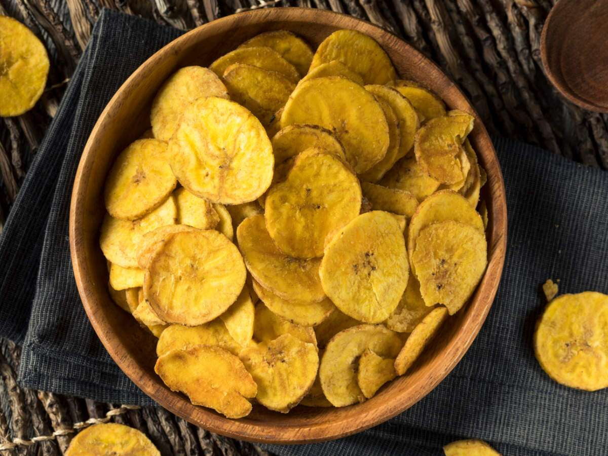 Healthy Snack Foods Banana Chips