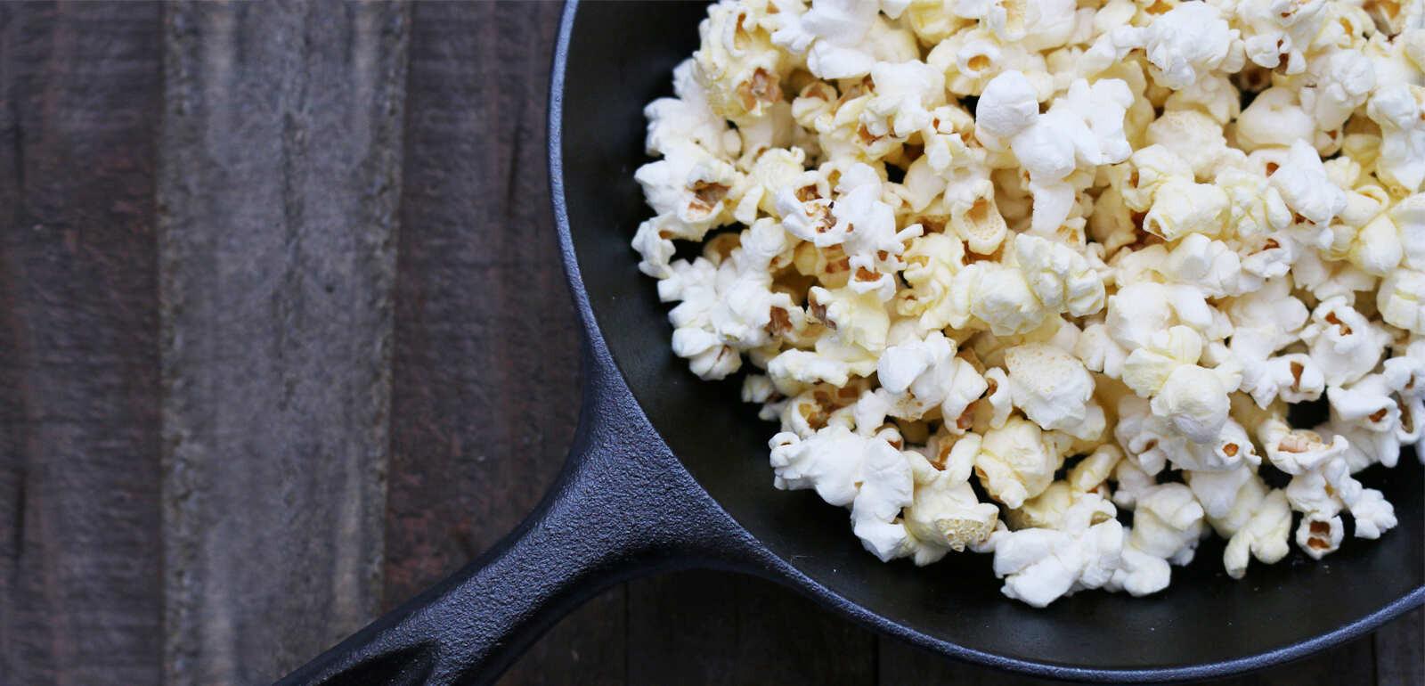Healthy Snack Foods Popcorn
