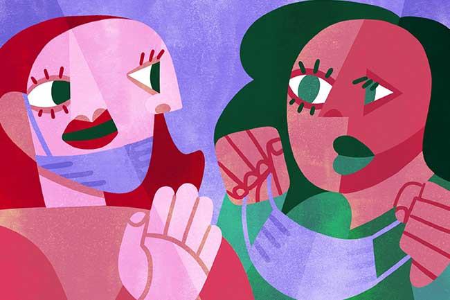 anti masking psychology