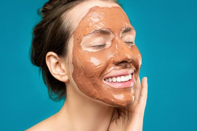Dark Chocolate face masks