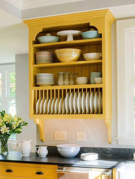 Show Off Your Style With Open Kitchen Shelving