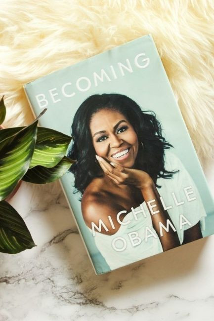 Teenager Book Becoming By Michelle Obama