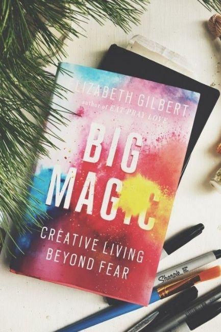 Teenager Book Big Magic By Elizabeth Gilbert