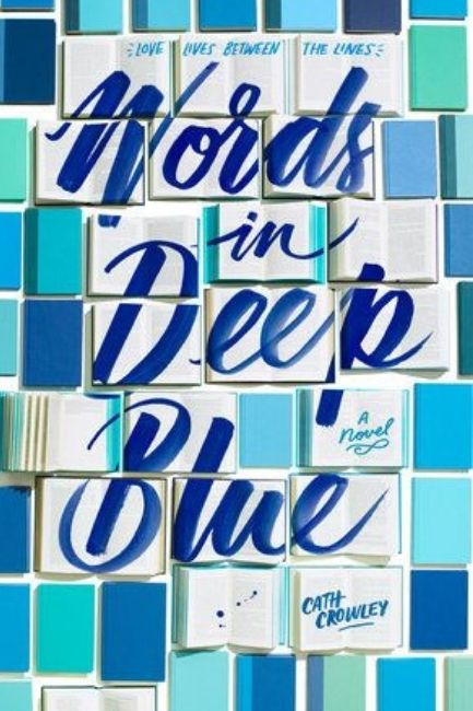 Teenager Book Words In Deep Blue By Cath Crowley