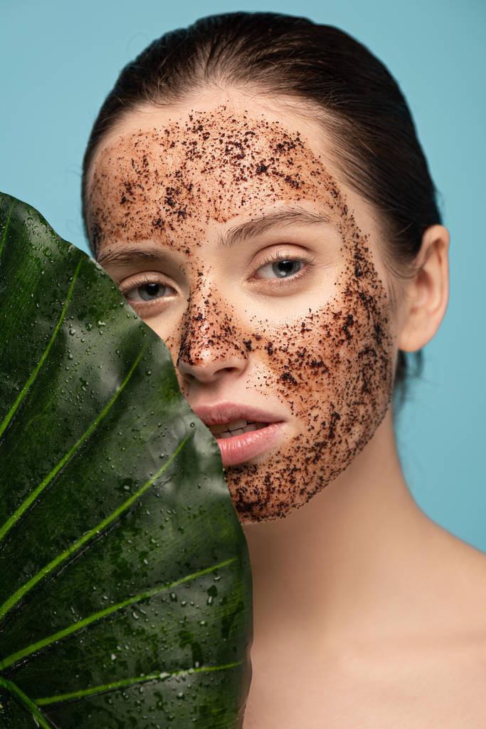 Coffee Face Scrub For Acne-Prone Skin