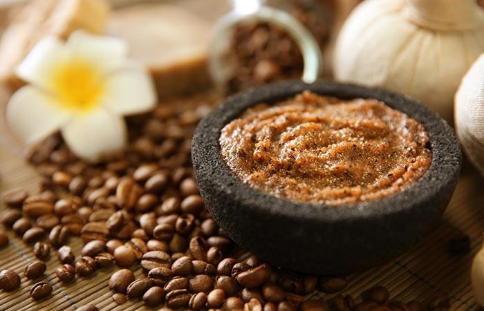 Coffee Face Scrub For Dry Skin