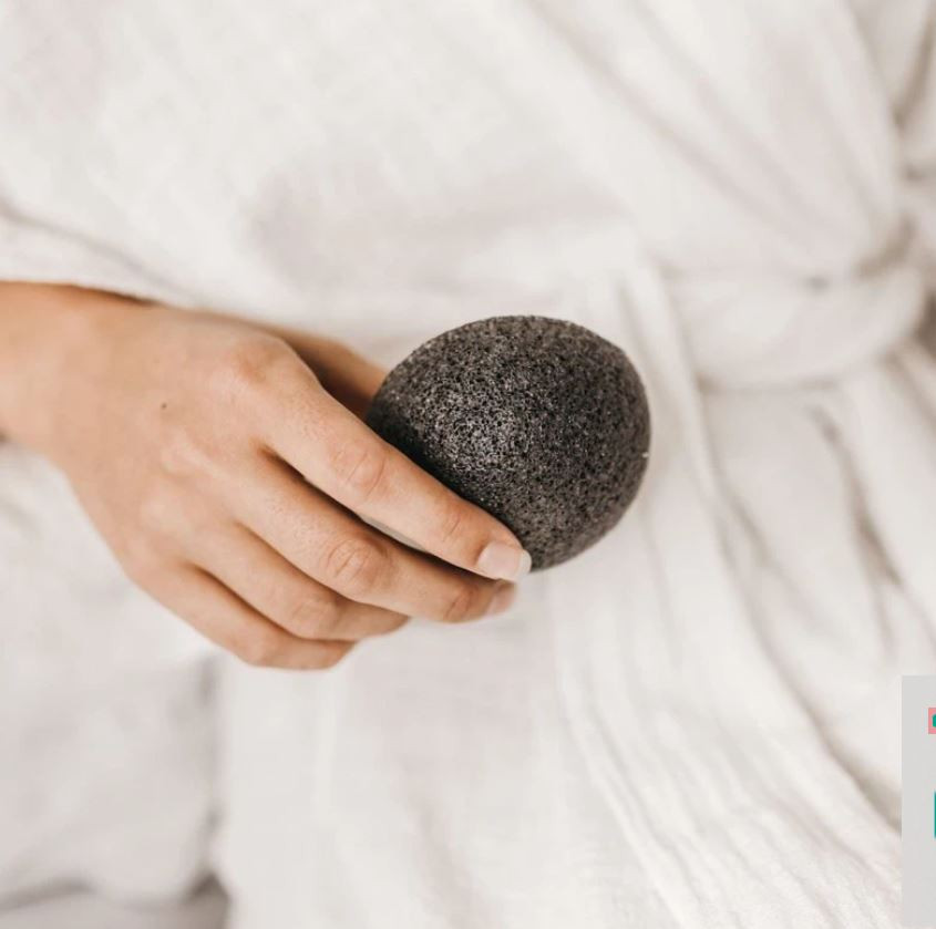 Face Massage Tool: Konjac Sponge
