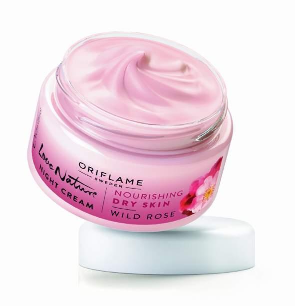 Oriflame Love Nature Night Cream Wild Rose, Rs 349