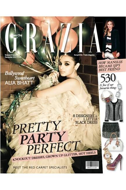 Alia Bhatt for Grazia