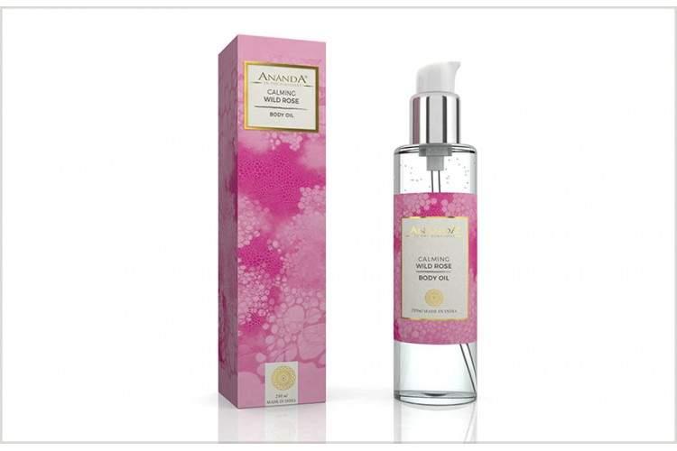 Ananda Calming Wild Rose Body Oil