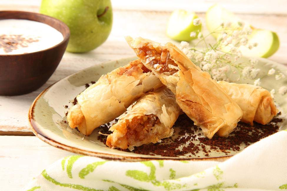 Apple & Cinnamon Enchiladas