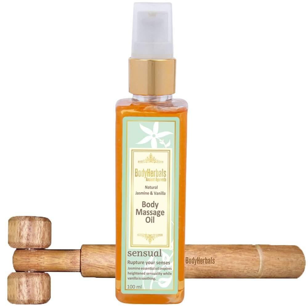 BodyHerbals Natural Jasmine Vanilla Body Massage Oil