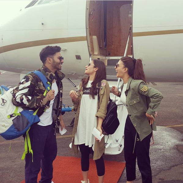 Varun, Alaia and Jacqueline