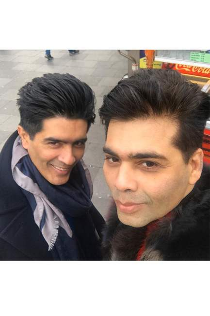 Hang out with your BFF. @karanjohar and @manishmalhotra05 would approve.