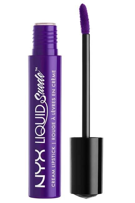 NYX Liquid Suede Cream Lipstick in Amethyst, Rs 850