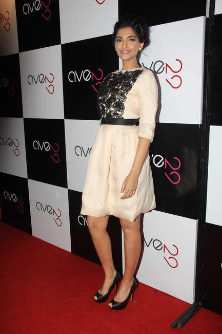 Sonam Kapoor at the launch of Ave 29