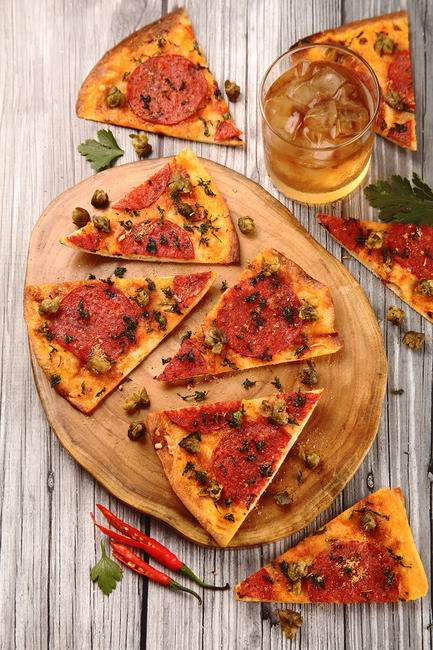 Spanish Chorizo Flatbread
