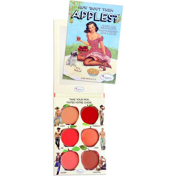 theBalm How Bout Them Apples Lip and Cheek Palette