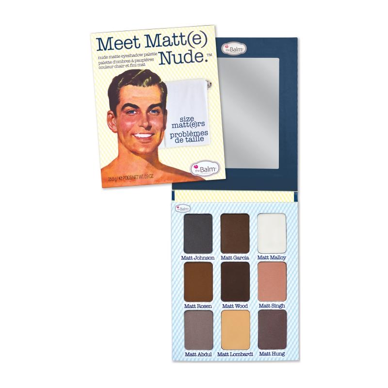 theBalm Matte Eyeshadow Palette