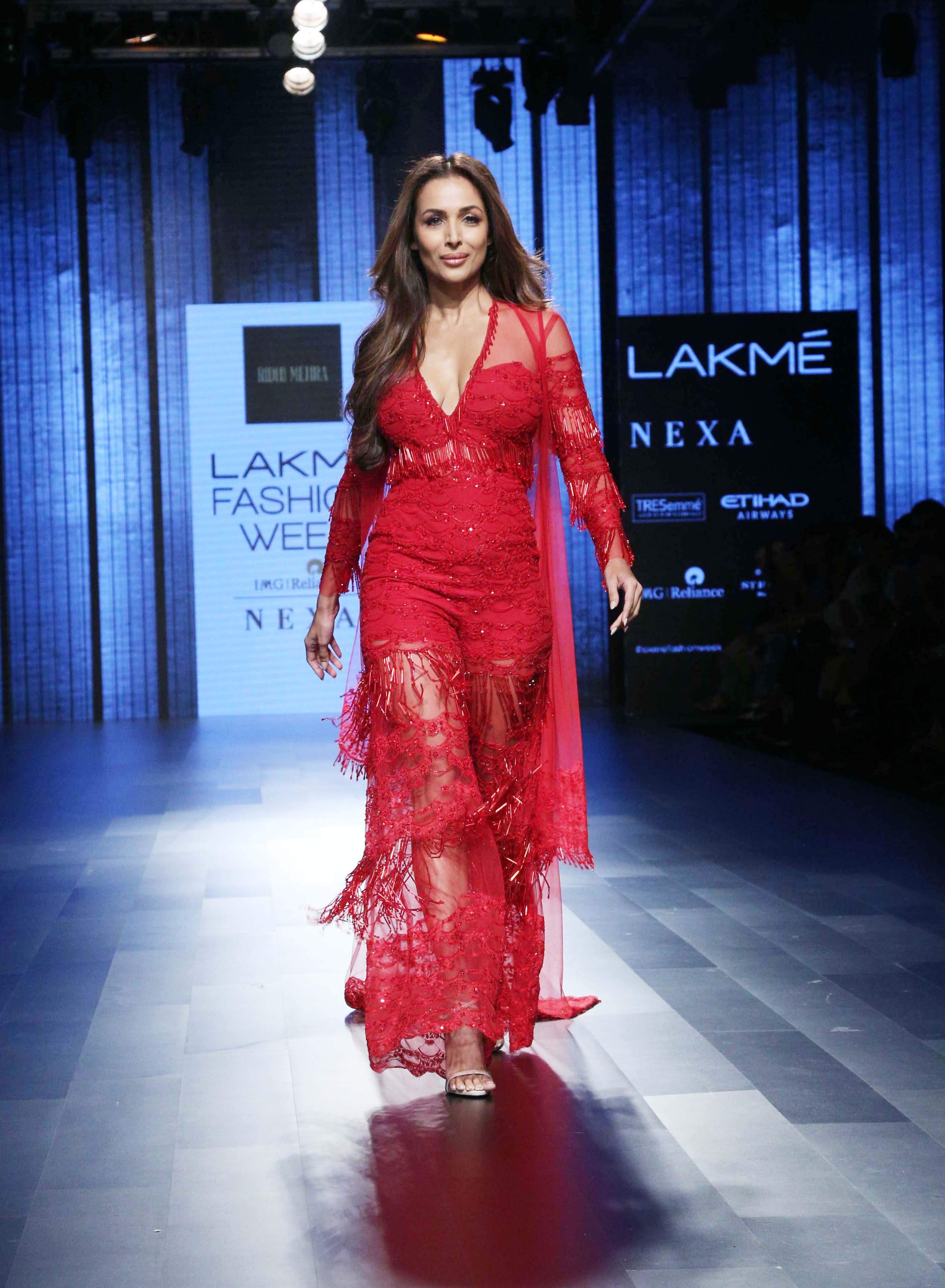 Malaika Arora Khan for Ridhi Mehra