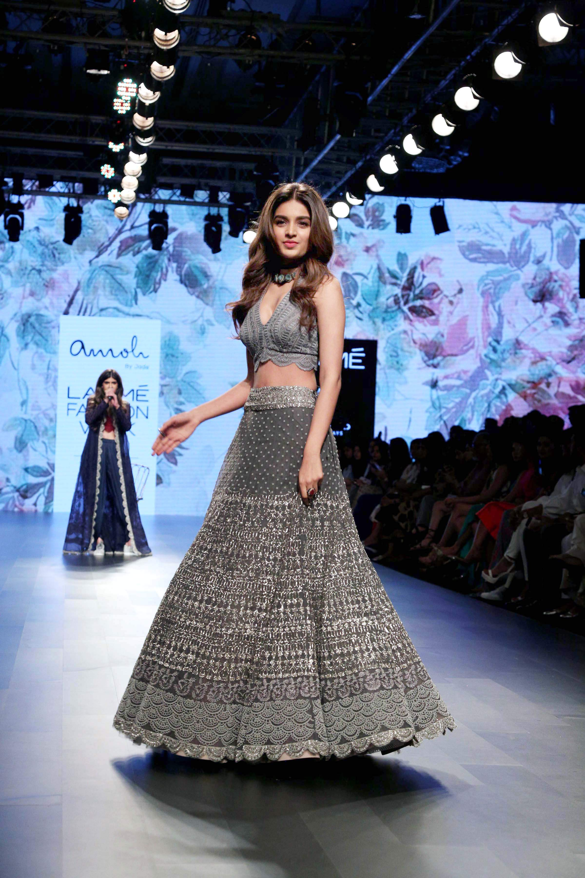 Nidhhi Agerwala for Amoh by Jade