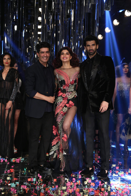 Jacqueline Fernandez & Aditya Roy Kapur for Manish Malhotra