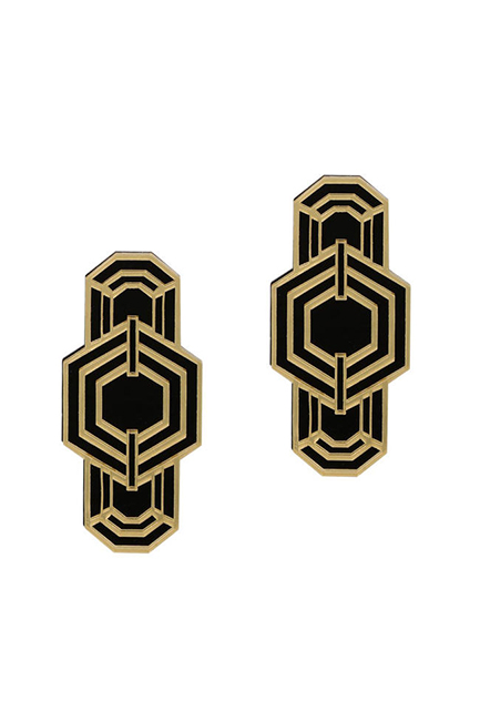Art deco earrings, Eristona, 649