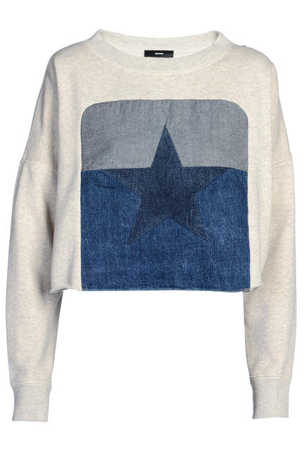 Cropped sweatshirt, Diesel, price on request