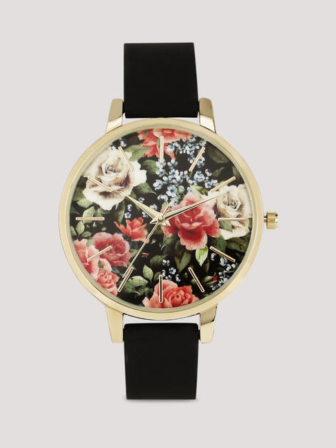 Floral dial watch, New Look at www.koovs.com, 1,795