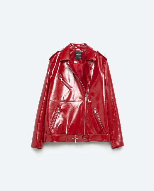 Leather jacket, Zara, 4,990