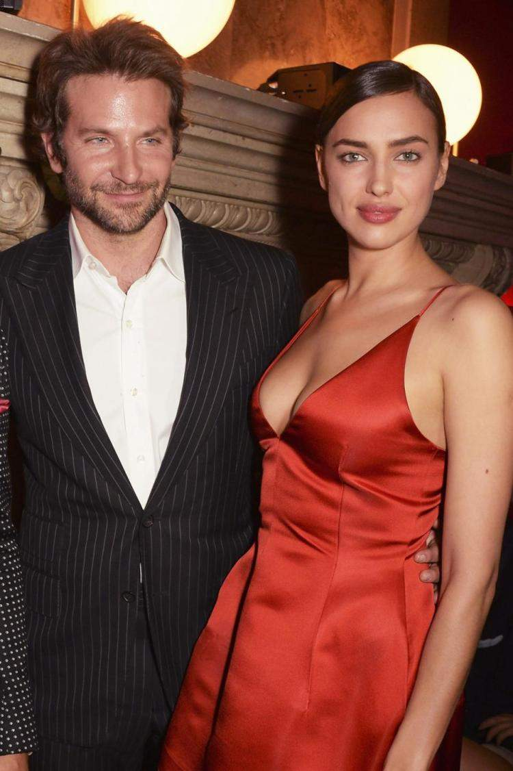 Bradley Cooper and Irina Shayak